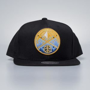 Czapka Mitchell & Ness snapbak Denver Nuggets black Easy Three Digital XL