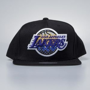Czapka Mitchell & Ness snapbak Los Angeles Lakers black Easy Three Digital XL