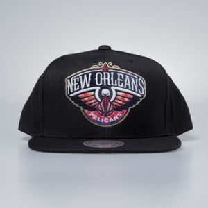 Czapka Mitchell & Ness snapbak New Orleans Pelicans black Easy Three Digital XL