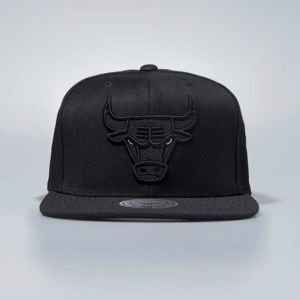 Czapka Mitchell & Ness snapbeck Chicago Bulls black Full Dollar