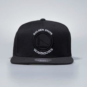 Czapka Mitchell & Ness snapbeck Golden State Warriors black Full Dollar