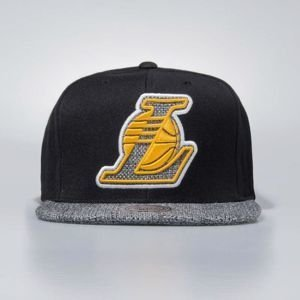 Czapka Mitchell & Ness snapbeck Los Angeles Lakers black Woven TC