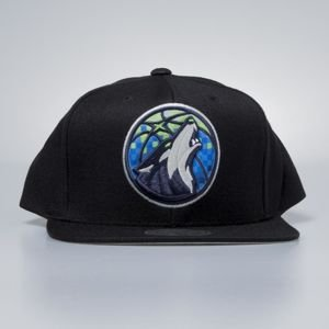 Czapka Mitchell & Ness snapbeck Minnesota Timberwolves black Easy Three Digital XL