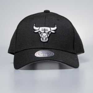 Czapka Mitchell & Ness strapback Chicago Bulls black Heather Low Pro