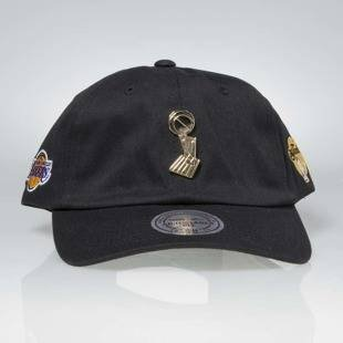 Czapka Mitchell & Ness strapback Los Angeles Lakers black Championship Brooch