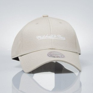 Czapka Mitchell & Ness strapback M&N Own Brand sand Team Logo Low Pro