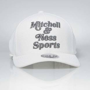 Czapka Mitchell & Ness strapback M&N Own Brand white Hexagon Jersey Mesh Hook and Loop