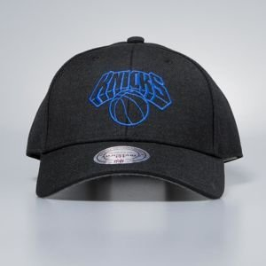 Czapka Mitchell & Ness strapback New York Knicks black Heather Low Pro
