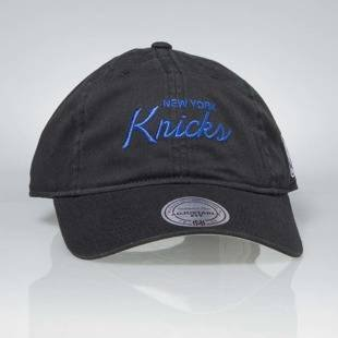 Czapka Mitchell & Ness strapback New York Knicks black Special Script