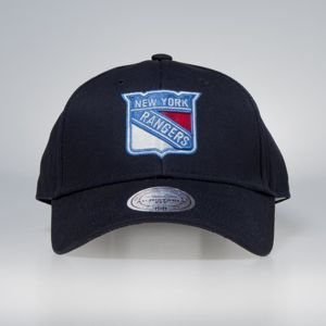Czapka Mitchell & Ness strapback New York Rangers navy Team Logo Low Pro