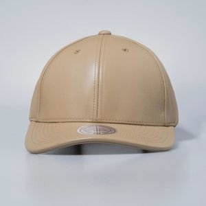 Czapka Mitchell & Ness strapback Own Brand beige All Over Leather