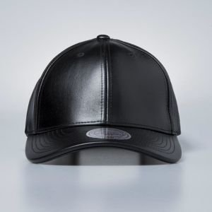Czapka Mitchell & Ness strapback Own Brand black All Over Leather