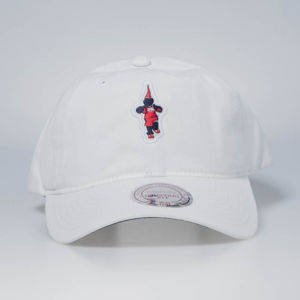 Czapka Mitchell & Ness strapback Washington Wizards white Team Mascot Slouch