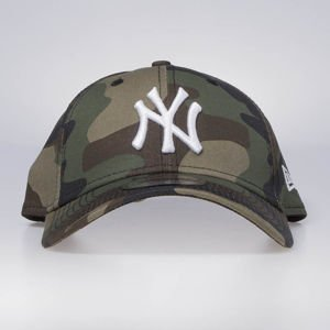 Czapka New Era strapback New York Yankess 940 League Essential woodland camo