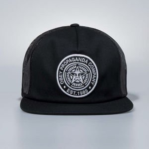 Czapka Obey Snapback Established 89 Trucker II black