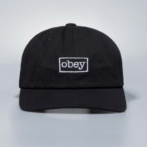 Czapka Obey Snapback Outline 6 Panel Hat black