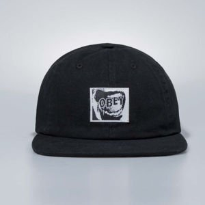 Czapka Obey Snapback Quiet 6 Panel Hat black