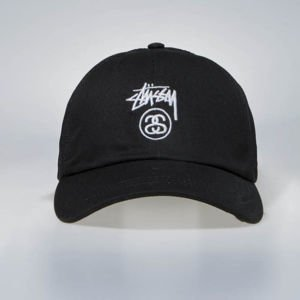 Czapka Stussy Stock Lock Low Pro Trucker Cap black