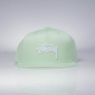 Czapka Stussy snapback Stock SU17 Cap light lime