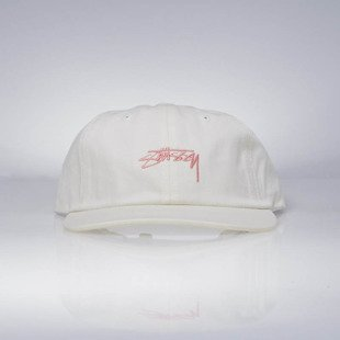 Czapka Stussy strapback Smooth Stock Low Cap cream