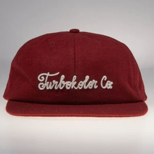 Czapka Turbokolor strapback Six Panel burgundy
