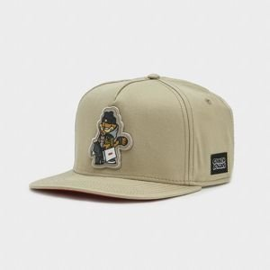 Czapka z daszkiem Cayler & Sons snapback WL Hyped Garfield sand / red