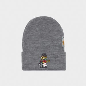 Czapka zimowa Cayler & Sons WL Hyped  Garfield Old School Beanie grey / mc