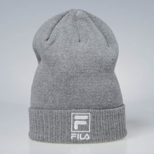 Czapka zimowa Fila F-Box Beanie light grey / melange bros