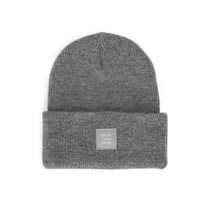 Czapka zimowa Herschel Abbott Reflective Beanie heather grey reflective 1001-0550