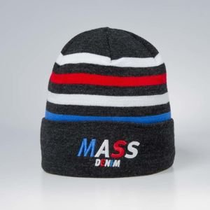 Czapka zimowa Mass Denim Beanie Grand heather grey