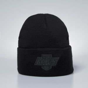 Czapka zimowa Mitchell & Ness Los Angeles Kings Beanie black Champ Cuff Knit