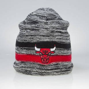 Czapka zimowa Mitchell & Ness winter beanie Chicago Bulls grey KW14Z Static Team Stripe