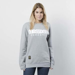 Damska bluza Mass Denim Sweatshirt Crewneck Classics WMNS light heather grey