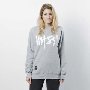 Damska bluza Mass Denim Sweatshirt Crewneck Signature WMNS light heather grey