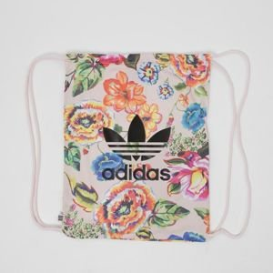Damski worek na plecy Adidas Originals Floral Gym Sack multicolor BR4171