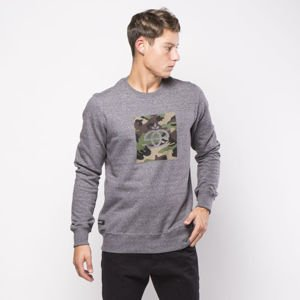 Elade bluza Crewneck Icon Camo salt and pepper