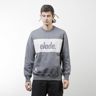 Elade bluza Crewneck Stripe salt and pepper