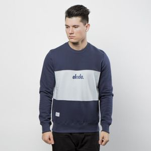 Elade bluza Crewneck Two Tone navy / blue