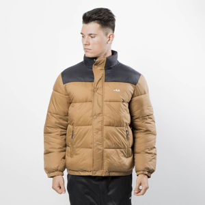 Fila Kurtka Zimowa Men Raith Puff Jacket camel