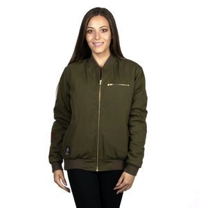 Harp Team Kurtka damska Bomber Ron's Jacket forest green