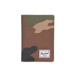 Herschel folder Raynor Passport Holder woodland camo 10152-00032