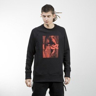 Intruz bluza Hand Crewneck black