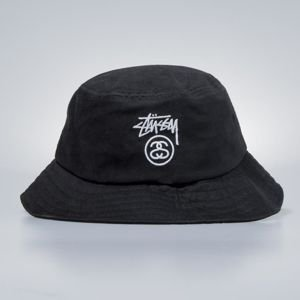 Kapelusz Stussy Stock Lock Bucket Hat black