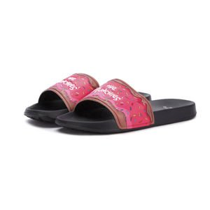 Klapki Cayler & Sons C&S WL MUNCHIES SANDALS black / multicolor