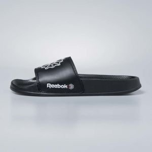 Klapki Reebok Classic Slide black / white / excele red CN0739