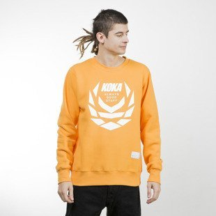 Koka bluza Crewneck Fusion Laurel orange