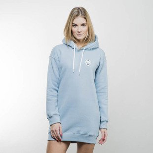 Koka bluza Ocean Pkwy Girls Hoodie Long loght blue