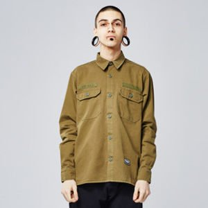 Koszula Backyard Cartel Immortal Shirt khaki SS2017