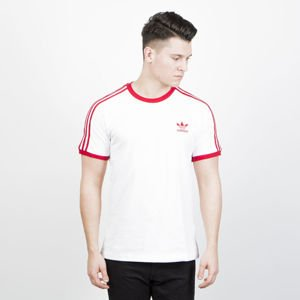 Koszulka Adidas Originals 3-Stripes Tee white / power red