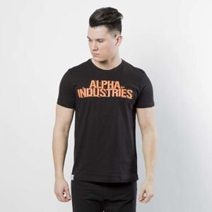 Koszulka Alpha Industries Blurred T black 186506/03
